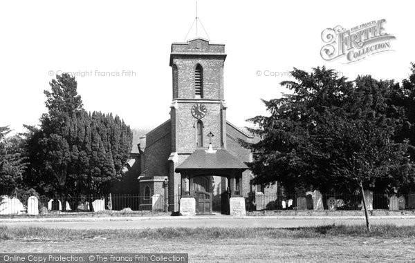 Sarisbury Green, St Paul's Church c1955