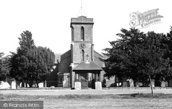 Sarisbury Green, St Paul's Church c.1955, Sarisbury