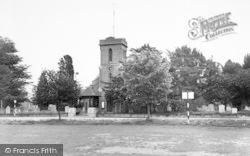 Sarisbury Green, St Paul's Church c.1965, Sarisbury