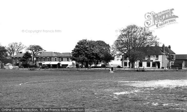 Sarisbury Green, the Green c1955