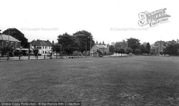 Sarisbury Green, the Green c1965
