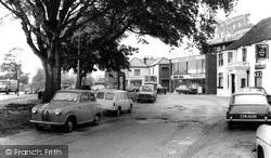 Sarisbury Green, The Parade c.1966, Sarisbury