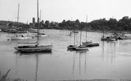 Sarisbury Green, view from the Bridge c1955