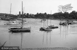 Sarisbury Green, View From The Bridge c.1955, Sarisbury