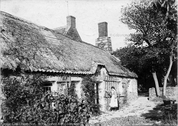 Photo of Sark, A Cottage 1909