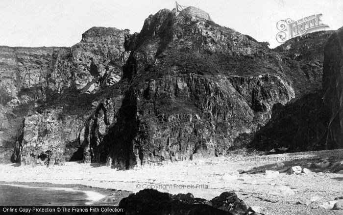 Photo of Sark, Banquette Bay, Port Du Moulin 1893