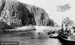Creux Harbour 1894, Sark