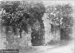 Gates Of La Seigneurie c.1910, Sark