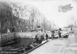 Harbour c.1910, Sark