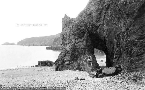 Photo of Sark, Natural Arch, Dixcart Bay 1887