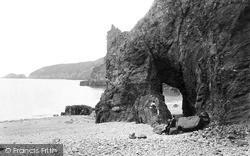 Natural Arch, Dixcart Bay 1887, Sark