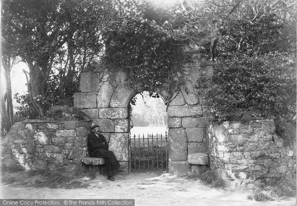 Photo of Sark, Old Arch c.1910
