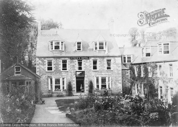 Photo of Sark, Stock's Hotel c.1930