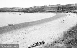 Sarn Bach, Marchroes Beach c.1960