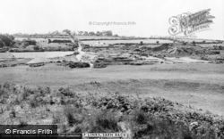 Sarn Bach, View From The Golf Links c.1960