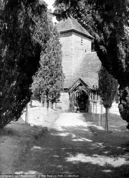 Photo of Sarnesfield, St Mary's Church c.1950