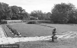 Sarnesfield, The Court Hotel, Gardens c.1950