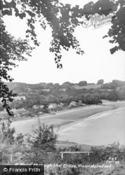 Saundersfoot, A Peep Through The Trees c.1965