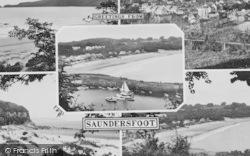 Saundersfoot, Composite c.1960