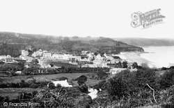 Saundersfoot, From Griffithston Hill 1898