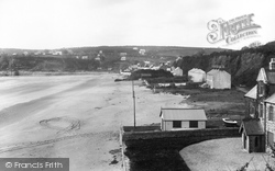 Saundersfoot, From Scar Cliff 1898
