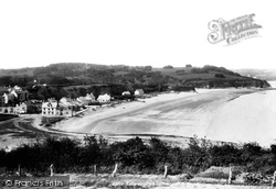 Saundersfoot, From St Brides 1898