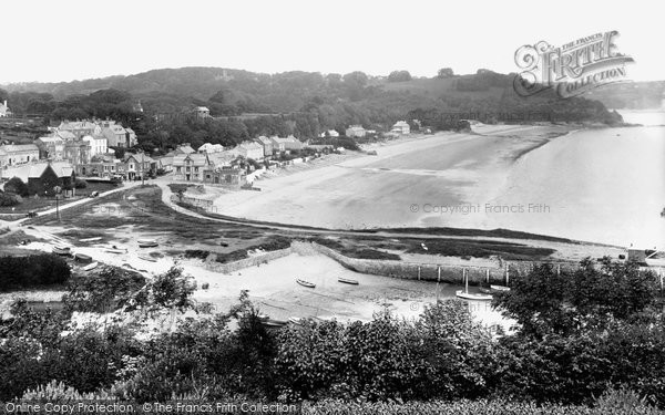 Saundersfoot, from St Bride's 1933