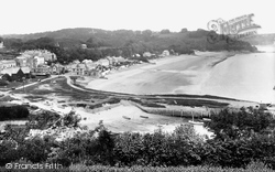 Saundersfoot, From St Brides 1933