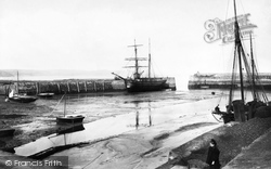 Saundersfoot, Harbour 1898