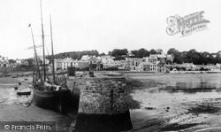 Saundersfoot, Harbour And Village 1893