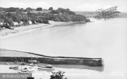Saundersfoot, Harbour And Village c.1965