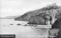 Saundersfoot, Monkstone Beach c.1950