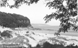 Saundersfoot, Peep Through The Trees, Coppit Hall c.1955
