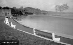 Saundersfoot, Promenade And Sands 1949