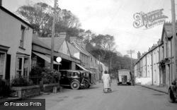 Saundersfoot, Railway Street 1949