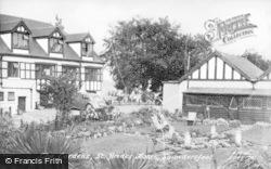 Saundersfoot, St Brides, Gardens c.1955