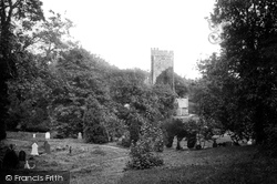 Saundersfoot, St Issell's Church 1890