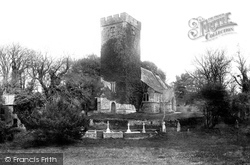 Saundersfoot, St Issell's Church 1898
