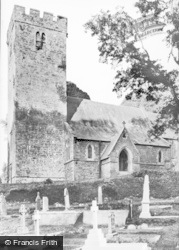 Saundersfoot, St Issell's Church c.1955