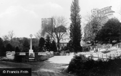 Saundersfoot, St Issell's Parish Church c.1935