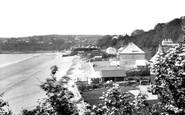 Saundersfoot, the Beach 1933