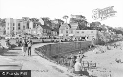 Saundersfoot, The Beach c.1960