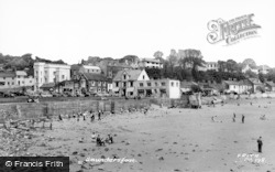 Saundersfoot, The Beach c.1965