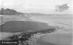 Saundersfoot, The Coast And Sands 1949