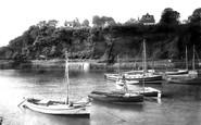 Saundersfoot, the Harbour 1933