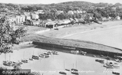 Saundersfoot, The Harbour And Village c.1965