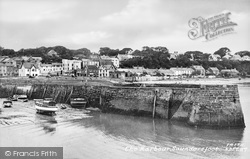 Saundersfoot, The Harbour c.1960