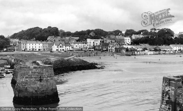 Photo of Saundersfoot, The Harbour c.1960