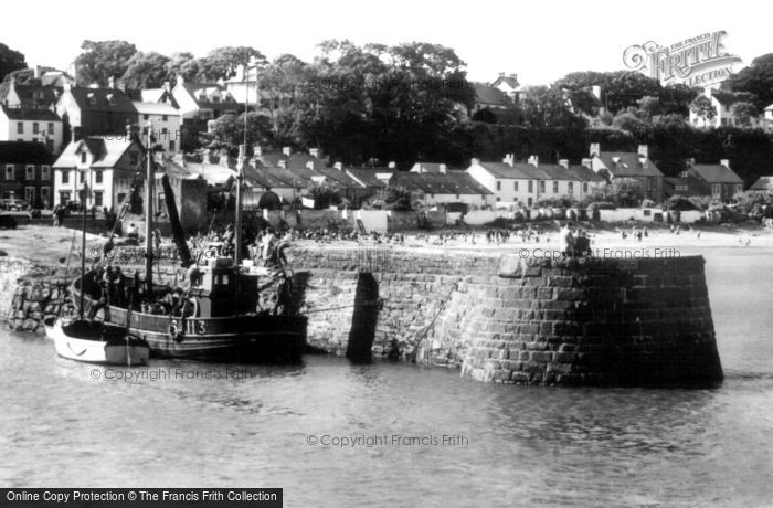 Saundersfoot, the Harbour c1960