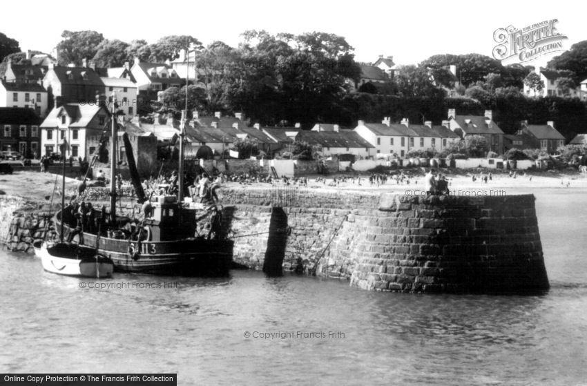 Saundersfoot, the Harbour c1960